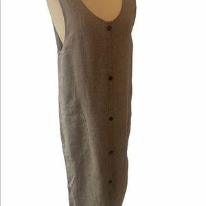 Flax Long Dress by AngelHeart 100% Linen